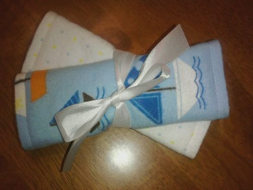Sailboats of Fun Carseat Strap Wraps