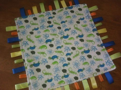 In the Tropics Tag Blanket